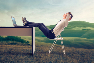 9 Entspannungsübungen für den Büroalltag